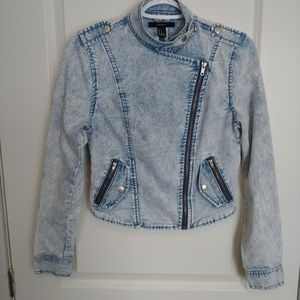 Forever 21 Tailored Jean Jacket